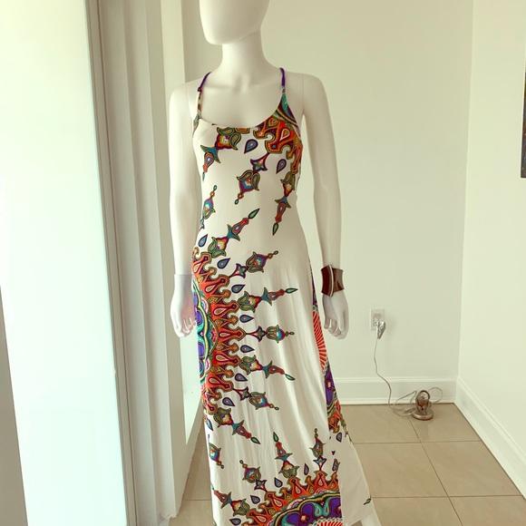 Trina Turk Dresses & Skirts - Trina Turk multi print maxi dress